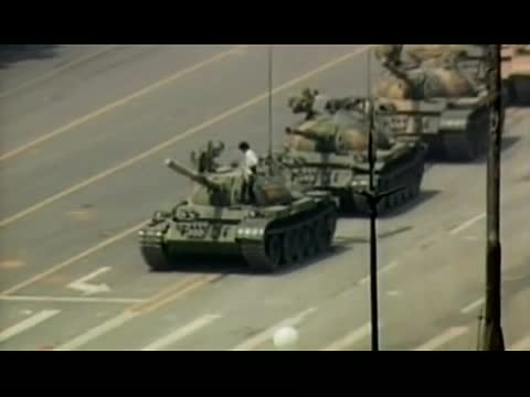 Life in China - Tank Man